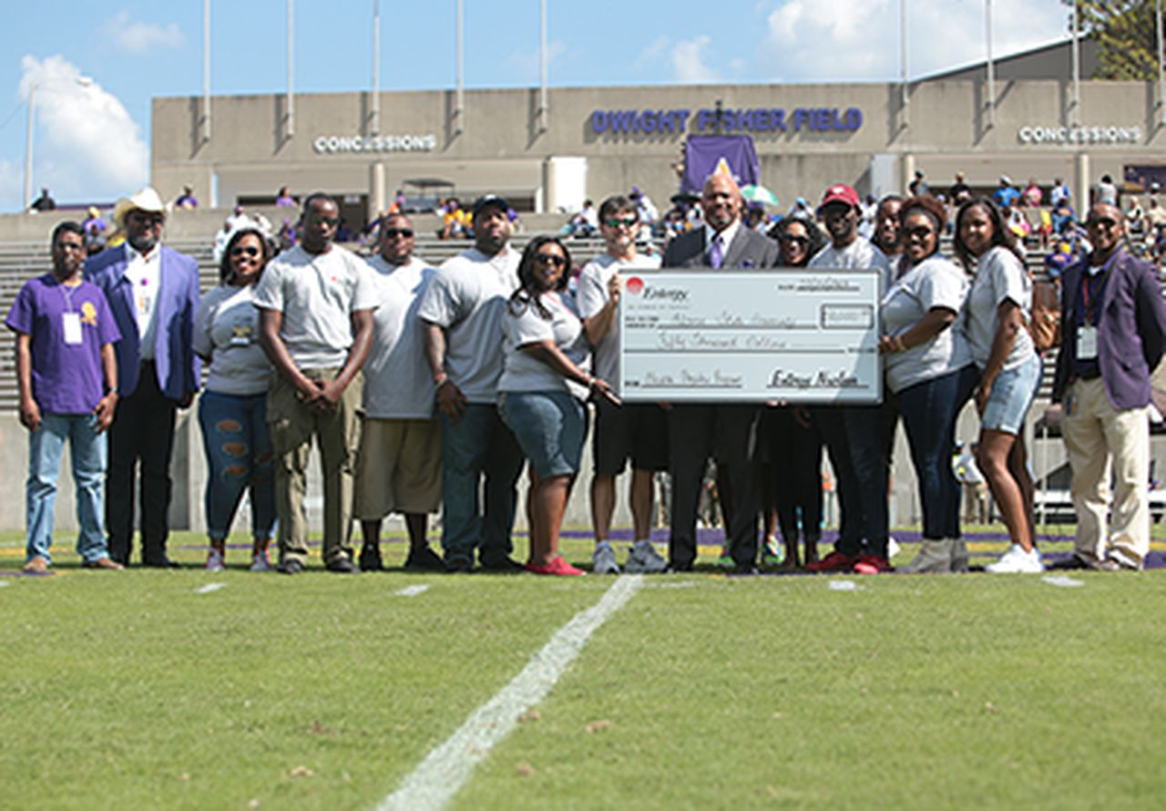 Alcorn State's Health Physics Program: an Entergy Charitable Foundation success story.