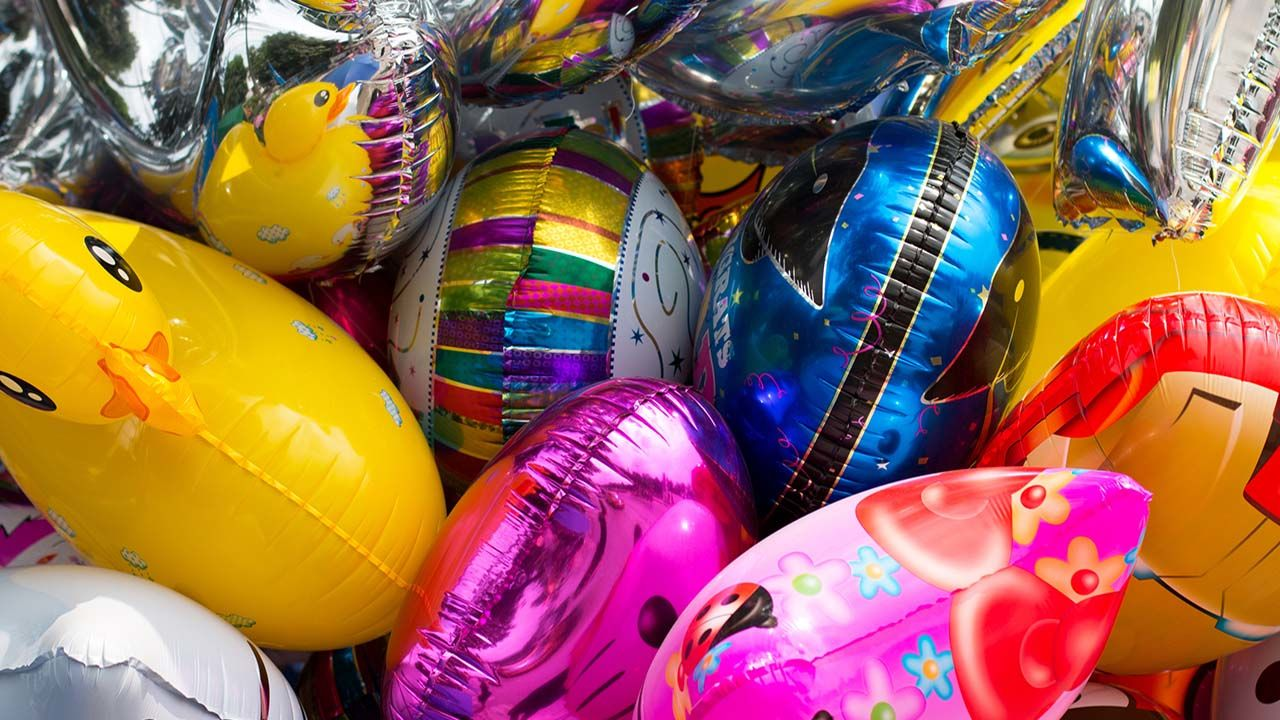 Metallic Balloons and Power Lines Don't Mix: Be Sure to Keep