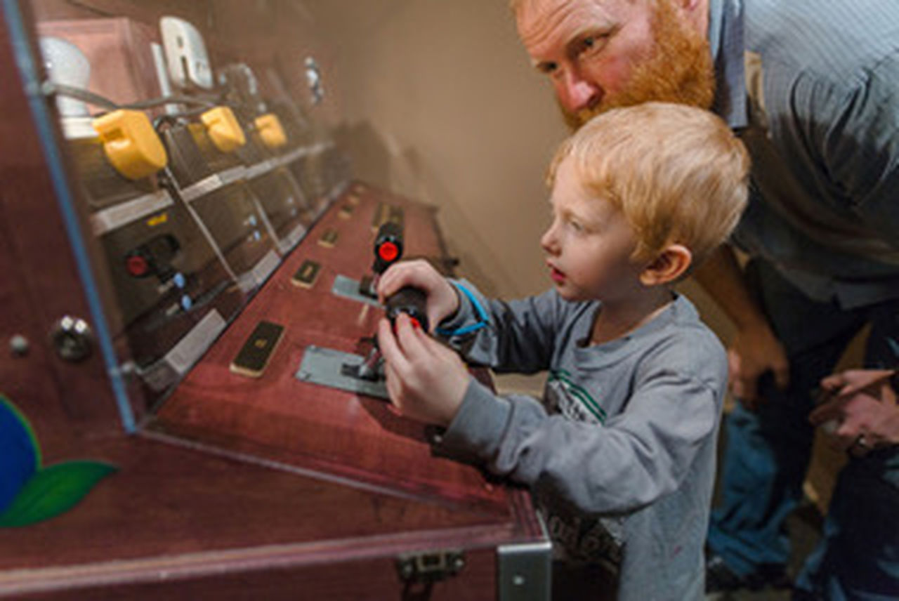 """Conservation Quest"" teaches families about energy."