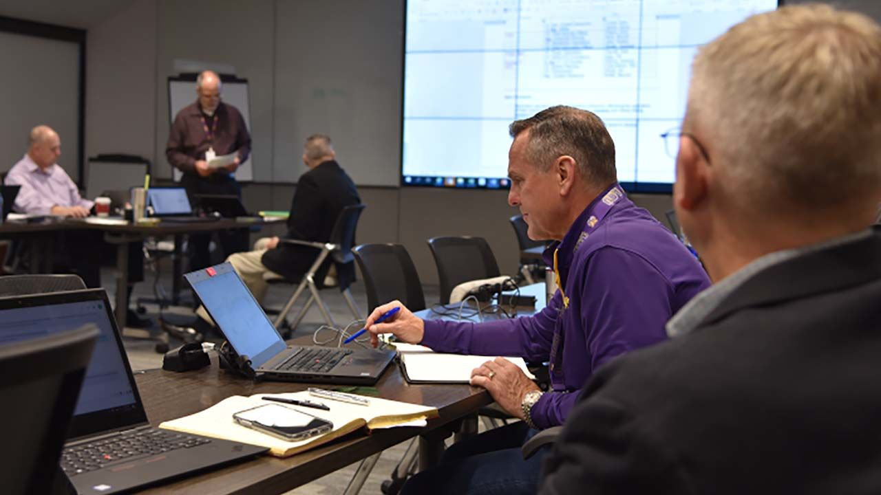 GridEx is an operational exercise for utilities and other stakeholders during which participants respond to simulated disasters, testing their response.