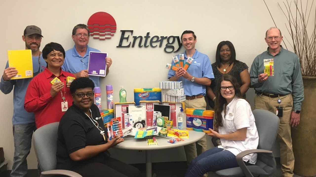 "Customer Service received support from the Madison Office in donating to the United Way of the Capital Area's ""2019 School Tools Drive"" for Canton Area Schools."