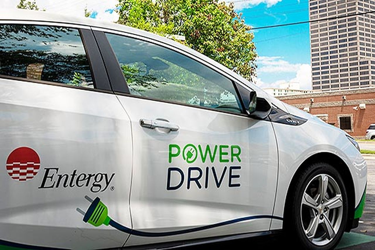 In honor of National Drive Electric Week, Entergy's electric fleet is hitting the road. Photo by Entergy employee Eric Treadwell.