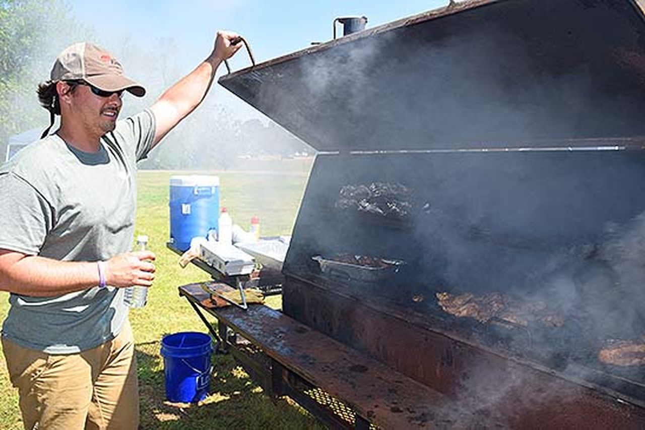The inaugural Smokin' Hot Cook-Off was held recently at the Mississippi Agriculture and Forestry Museum grounds. The cooking was serious, but the day was about fun, fellowship, and giving back, as all proceeds benefited local charities.