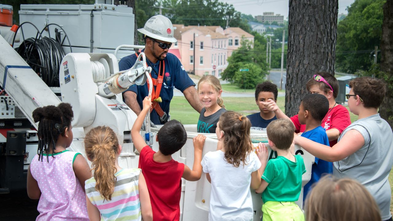 Entergy is committed to growing healthy, educated and productive communities.