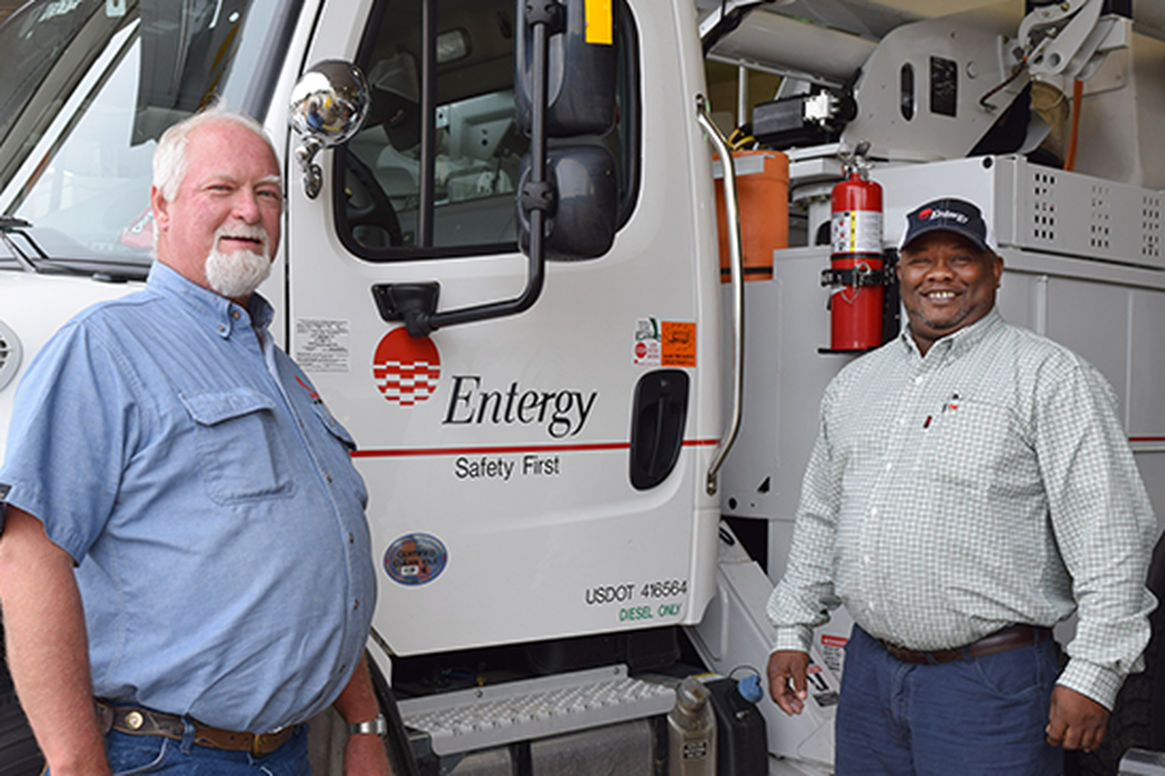 Rick Rushing and Dennis Melson share their secrets to creating a strong safety culture at Entergy.