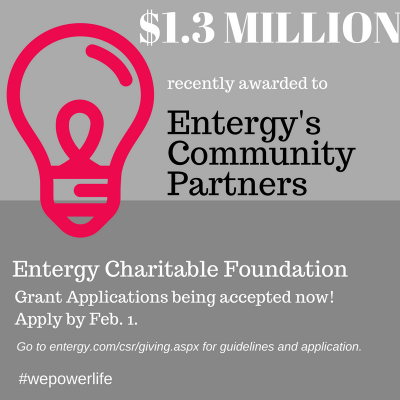 Building Stronger Communities, Entergy Charitable Foundation to