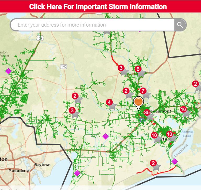 Entergy Texas Power Outage Map Entergy Texas Evening Restoration Update   Entergy Newsroom