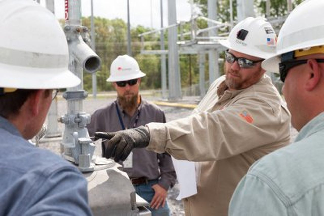 The first boot camp is underway at Entergy's new Arthur
